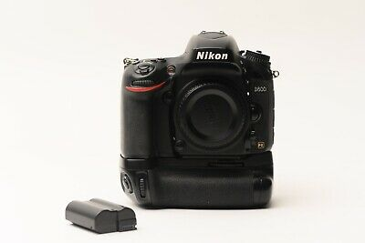 Nikon D D600 24.3MP Digital SLR Camera with Grip - Black (Body Only) See photos.