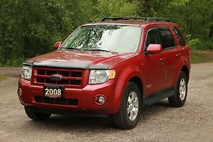 2008 Ford Escape Limited | 4x4 | ONLY 90K | CERTIFIED