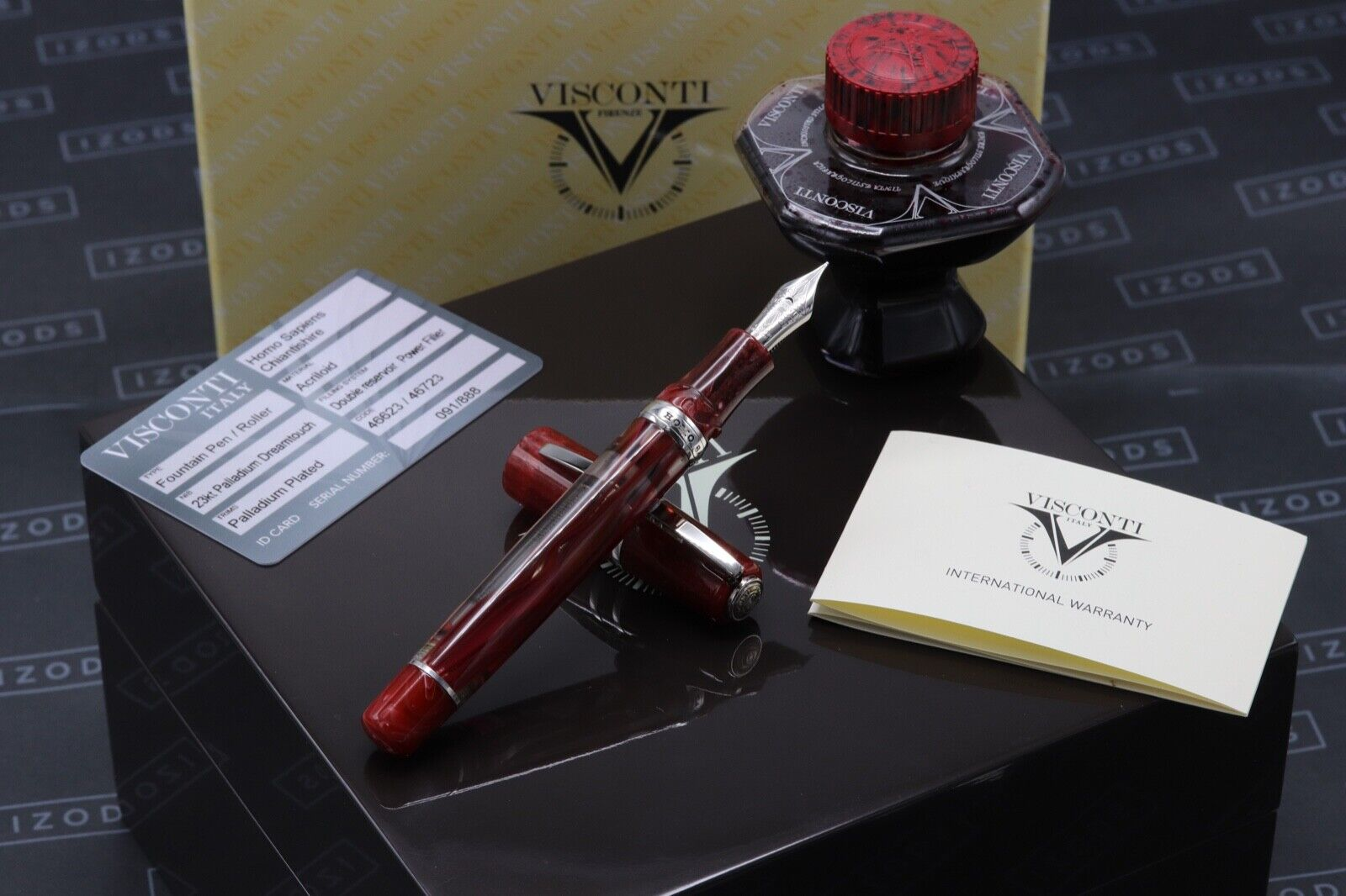 Visconti Homo Sapiens Chiantishire Limited Edition Fountain Pen