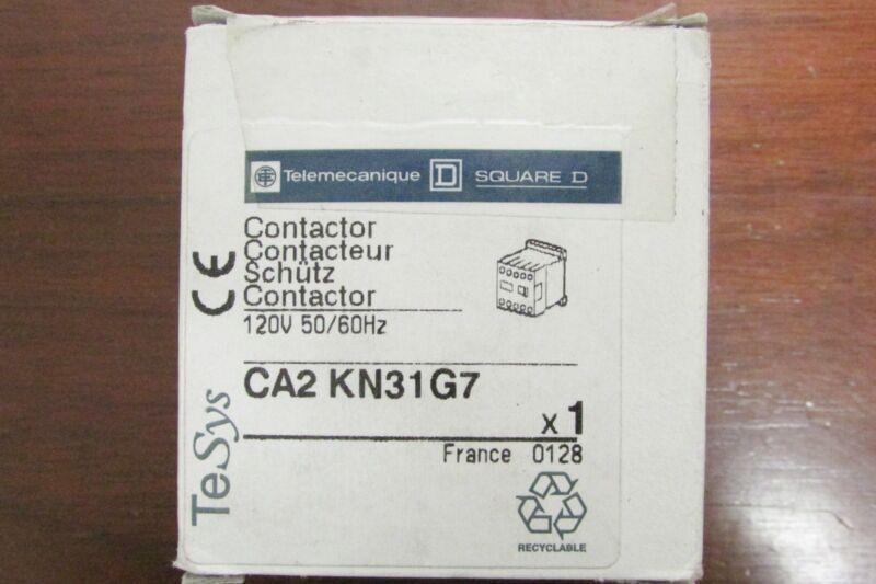 SQUARE D TELEMECANIQUE Contactor 120V CA2 KN31G7