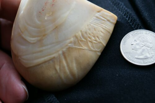 Chinese-white-Very old Hetian-jade- Name stamp- Seal