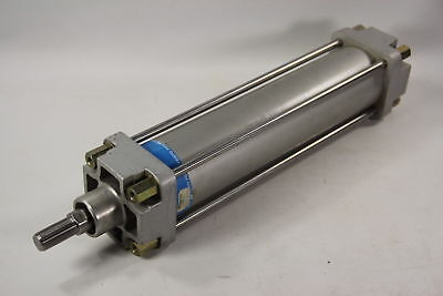 Festo Dnv 80-320 Ppv Pneumatic Cylinder 80mm Bore 320mm Stroke 175psi - Used