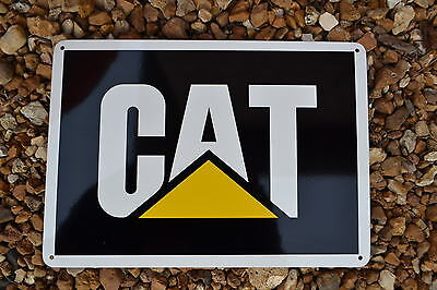 CAT CATERPILLAR Logo Sign backhoe skidsteer excavator