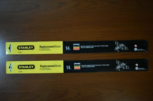 [2-Pack] Stanley 20-809 Replacement Blade 14 TPI for 20-800 Mitre Box