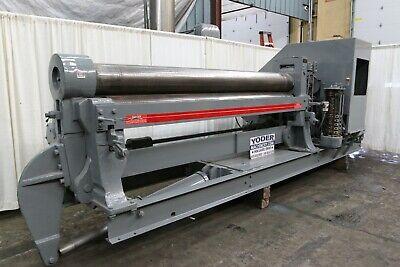 10 X 12 Bertsch Initial Plate Bending Roll Yoder 69138