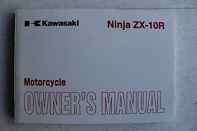 Kawasaki ZX10R ZX-10R D6F 06 NEW OEM Owners Use & Maintenance Manual 99986-1305