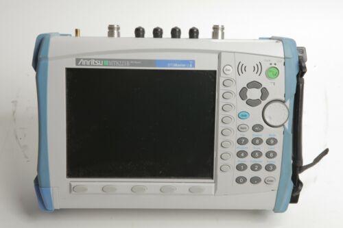 Anritsu BTS Master MT8221B 400MHz-4GHZ C+A / 150kHz-7.1GHz Spectrum Analyzer