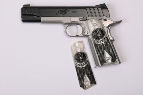 1911 U.S. Army White Faux Pearl