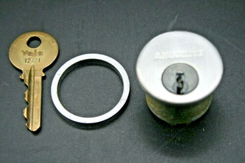 """Commercial Solid Brass 5 Pin Door Lock 1"""" Cylinder with Key"""