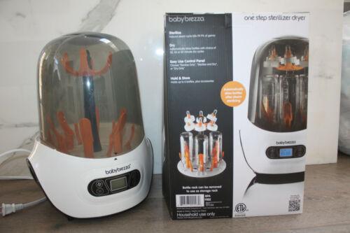 Baby Brezza Bottle Sterilizer Dryer Machine Electric Steam Sterilization White