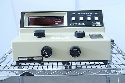 Spectronic Instruments Spectronic 20d Visible Spectrophotometer