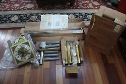 NOS Emperor Grandfather Clock Movement Model 101,Weights,Pendulum, Chime Rod....