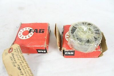 2 New Nos Nib Fag Bearing S3507.2rs 79147-6c For Reeves Vari-drive Part