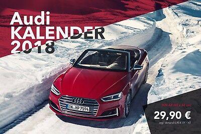 Audi A / S / RS / R8 Kalender 2018 - DIN A2 - Wandkalender Quattro - Audi Sport