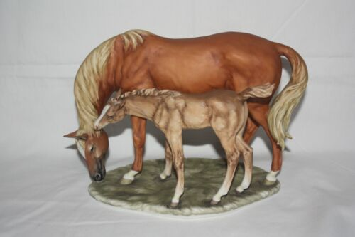 Kaiser West Germany - Thoroughbred Mare and Foal - Limited Edition 131/1200