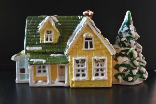 Dept 56 Rare Original Snow Village Nantucket Cottage -Lighted -Preowned. No Box