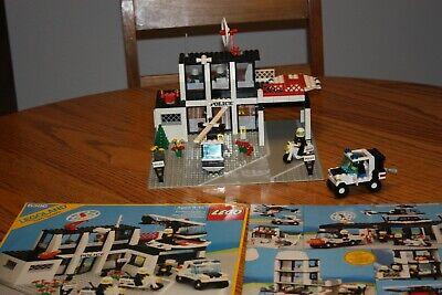 Vintage 1986 Lego Legoland Town System Police Command Set Rare 6386