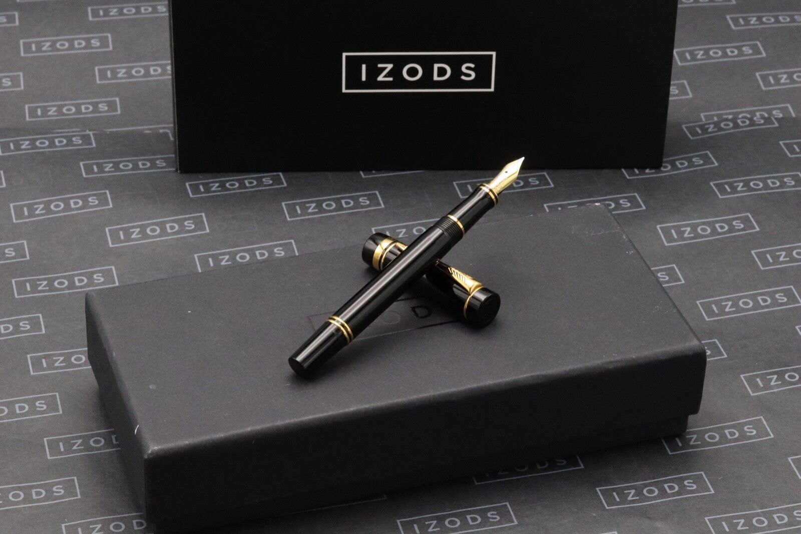 Parker Duofold International Black Fountain Pen - 1995 MK1
