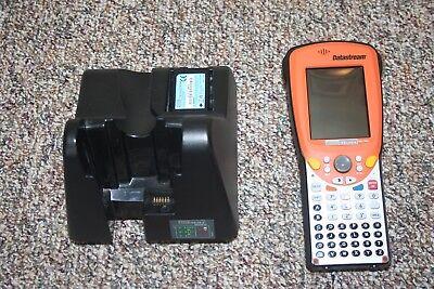 Psion Teklogix Ds-1100 Datastream Barcode Scanner Wcradle Battery