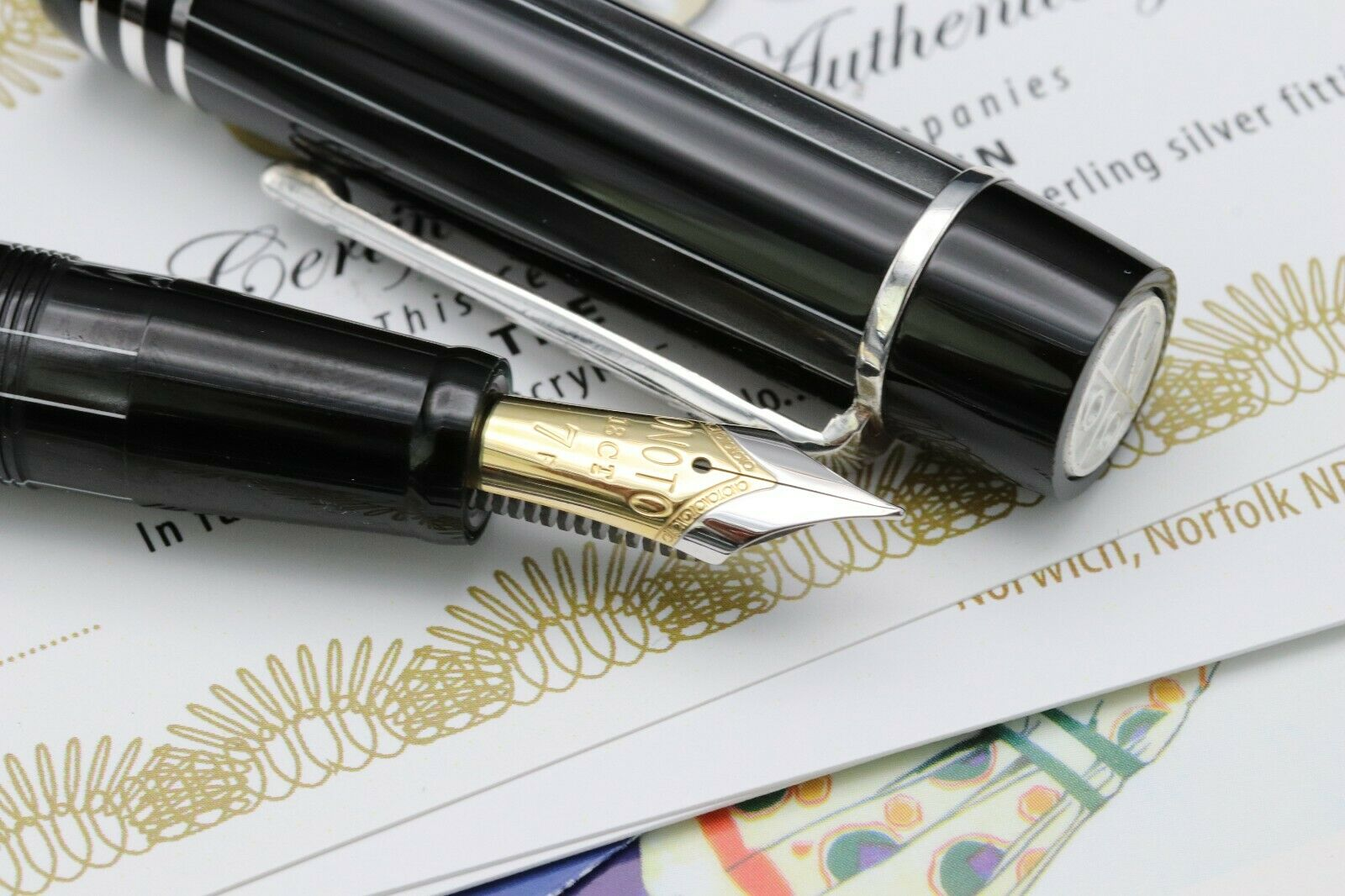 Onoto Magna Charles Dickens Pickwick Limited Edition Fountain Pen - UNUSED 3