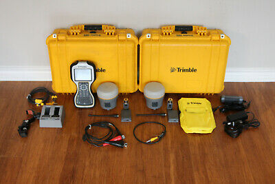 Trimble Dual R10 Gps Gnss Rtk Survey Receiver Setup W Tsc3 Access 2017.23