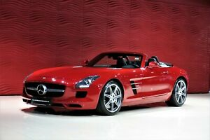 Mercedes-Benz SLS AMG Roadster*1.HAND*AIRSCARF*AMG-RIDE-CONTR.