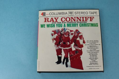 RAY CONNIFF MERRY CHRISTMAS 7 1/2 IPS REEL TO REEL TAPE COLUMBIA 484 VG++