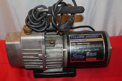 Yellow Jacket 93560 Superevac 6 Cfm Single Phase Vacuum Pump 115v 60 Hz P12
