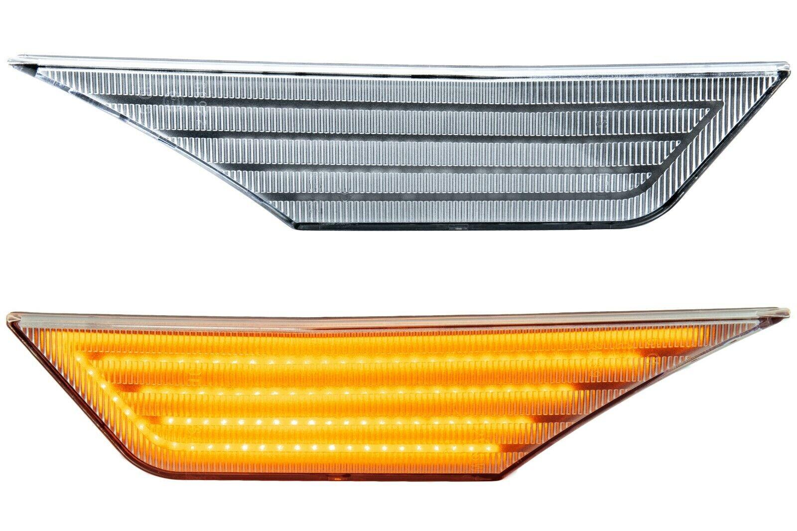Zafira C KLARGLAS phil trade LED SEITENBLINKER kompatibel f/ür OPEL Astra J K 71012 Insignia B