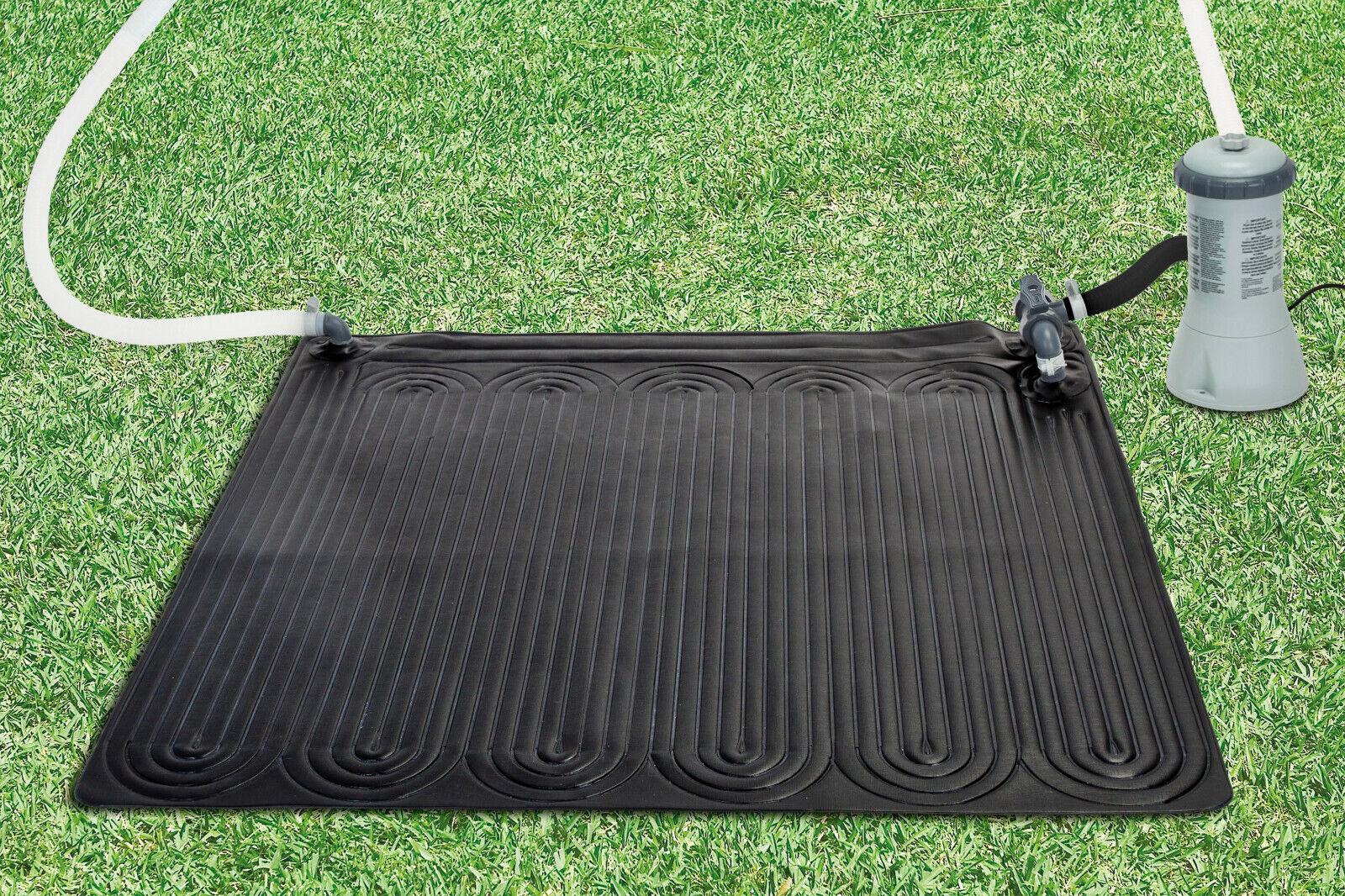 INTEX Solarmatte Poolheizung 120x120 Solarkollektor Solarheizung Pool Solar , K
