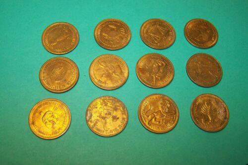 Zodiac Coin Connect with Zodiac Token Peep Show Token (One coin)