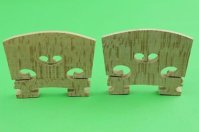 30 High Maple Wood (30 pcs high quality violin Bridges maple wood 4/4 violin parts accessories )