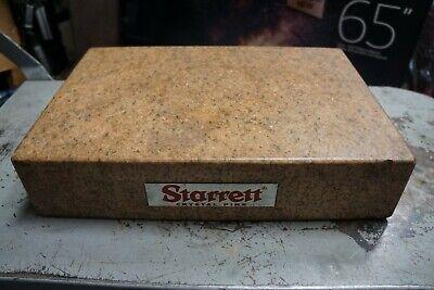 Starrett 18 X 12 X 4 Pink Granite Surface Plate ---g38