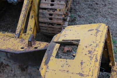 John Deere 1010 Crawler Dozer Tractor  Radiator Door Farmerjohnsparts
