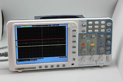 Low Noise Owon 100mhz Oscilloscope Sds7102v 1gs Large 8 Batterybag Free Fw U