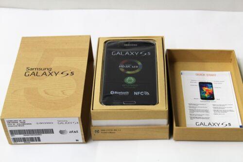 Samsung Galaxy S 5 4G Cell Phone Charcoal Black SM-G900A