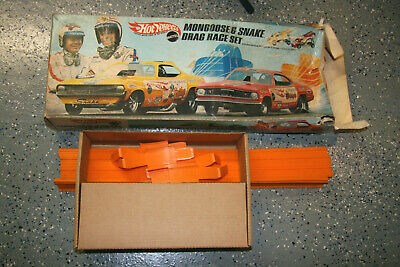 1970 Snake Mongoose Track Set Unrestored original Hot Wheels Redline: