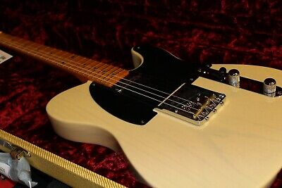 2020 Fender USA 70TH ANNIVERSARY BROADCASTER 0170270868 Blackguard Blonde