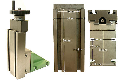 10111  GG-Tools  Fräsaufsatz Höhensupport für Drehmaschine