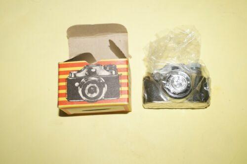 Vintage CRYSTAR Miniature Mini Spy Camera w Box Made in Japan un Tested w film