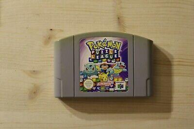 PoKéMoN Puzzle League sgZ/VGC/TBE - Modul/cartridge Nintendo 64 N64