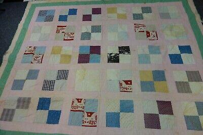 Edwardian Quilt -CHECKERBOARD Pattern-71