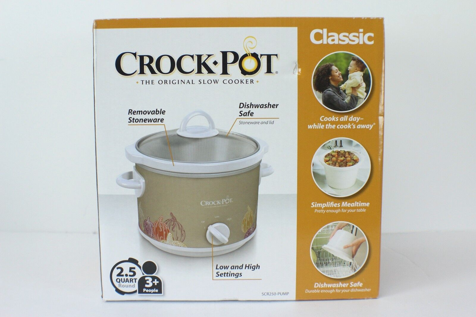 crock pot 2 5 quart manual slow
