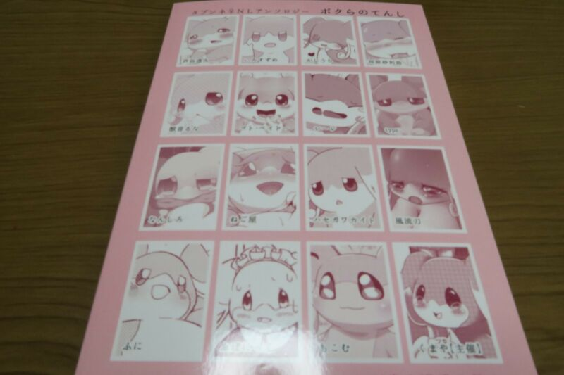 POKEMON doujinshi Audino anthology Bokura no tenshi furry kemono A5 84pages