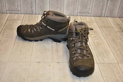 Keen Targhee Hiking Shoe - **Keen- Targhee II Hiking Shoes, Men's Size 10, Black Olive/Yellow DAMAGED