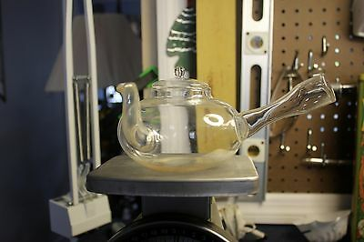 glass side handle teapot (kyusu)