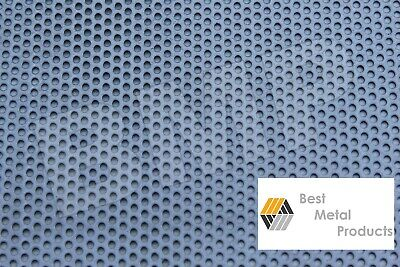 304 Stainless Steel Perforated Sheet .040 X 18 X 18 - 18 Holes 0600103