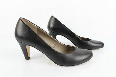 Eram Zapatos Cuero Negro T 37 Muy Buen Estado