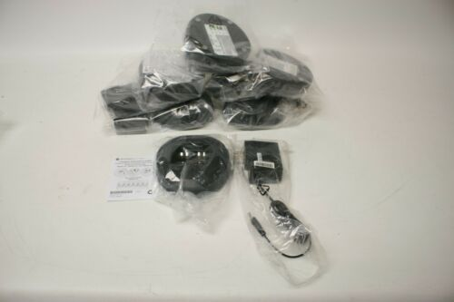 Lot of 6 Mag One Motorola Desktop Charger (BPR40) - PMLN5041A With Power Supply