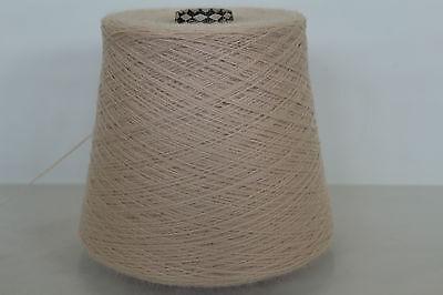 N24 500g KASCHMIR / BABY ALPAKA WEISSROSA (15/2) Wolle Zwirn Strick Garn online kaufen